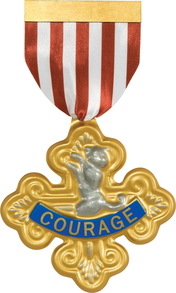 Wizard of Oz Cowardly Lion Badge Of Courage - HalloweenCostumes4U.com - Accessories