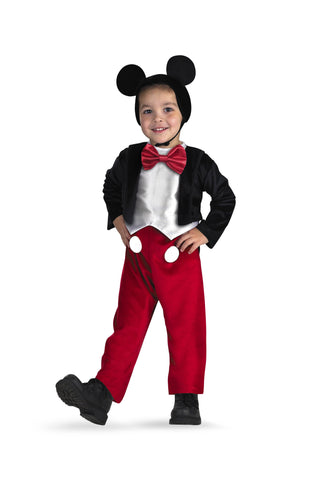 Boys Mickey Mouse Costume - HalloweenCostumes4U.com - Infant & Toddler Costumes
