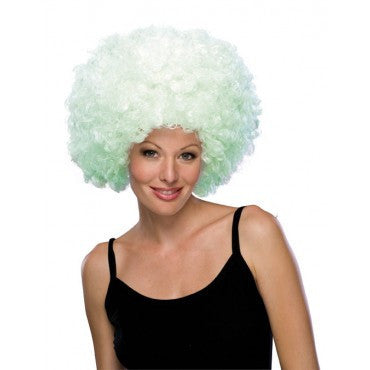 Glow in the Dark Afro Wig - HalloweenCostumes4U.com - Accessories