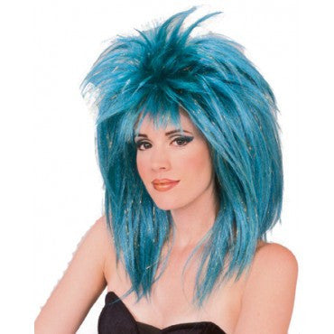 Glitter Diva Tinsel Wig - Various Colors - HalloweenCostumes4U.com - Accessories - 1
