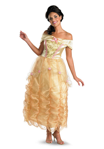 Adult Princess Belle Deluxe Costume