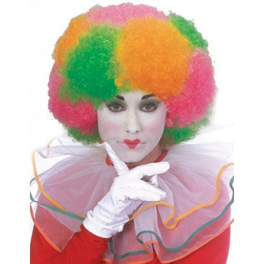 Neon Clown Wig - Various Colors