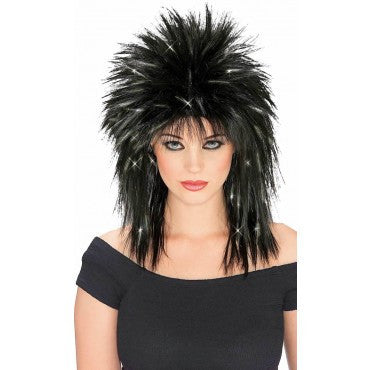 Spiked Tinsel Wig - Various Colors - HalloweenCostumes4U.com - Accessories - 2