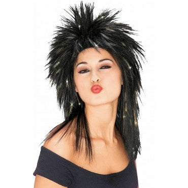 Spiked Tinsel Wig - Various Colors - HalloweenCostumes4U.com - Accessories - 3