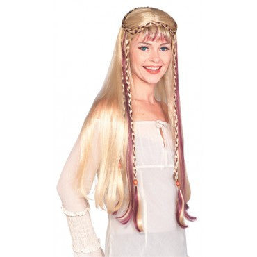 Blonde Maiden Wig - HalloweenCostumes4U.com - Accessories