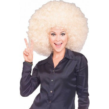 Jumbo Afro Wig - Various Colors - HalloweenCostumes4U.com - Accessories - 3