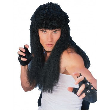 Black Curly Hair Wig - HalloweenCostumes4U.com - Accessories