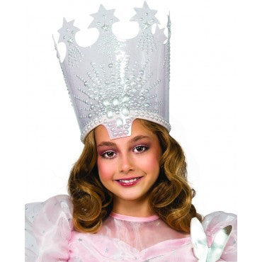Kids Wizard of Oz Glinda The Good Witch Crown - HalloweenCostumes4U.com - Accessories