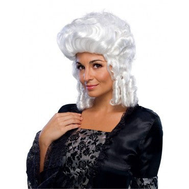 Colonial Lady Wig - Various Colors - HalloweenCostumes4U.com - Accessories - 2