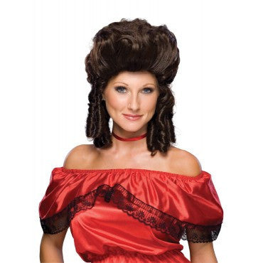 Colonial Lady Wig - Various Colors - HalloweenCostumes4U.com - Accessories - 3