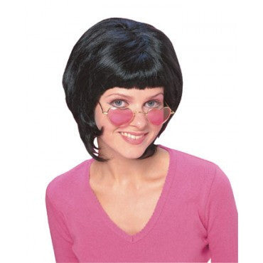 Black 70s Wedge Wig - HalloweenCostumes4U.com - Accessories