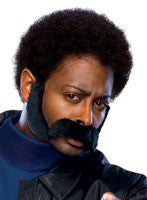 Black Mustache and Sideburns - HalloweenCostumes4U.com - Accessories