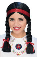 Native American Wig - HalloweenCostumes4U.com - Accessories