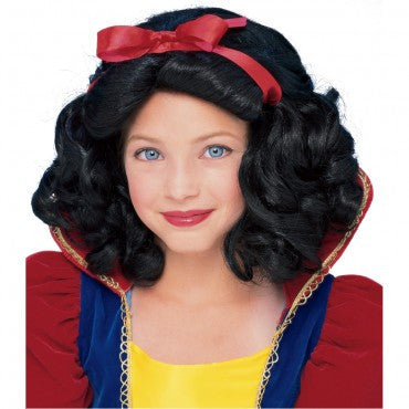 Kids Snow White Wig - HalloweenCostumes4U.com - Accessories