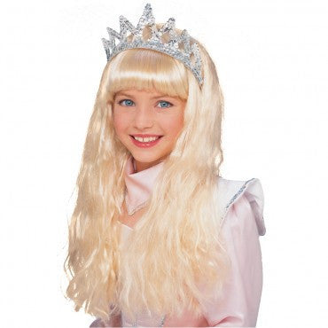 Kids Blonde Crystal Princess Wig - HalloweenCostumes4U.com - Accessories