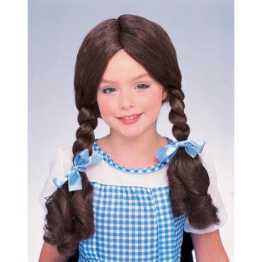Kids Wizard of Oz Dorothy Wig - HalloweenCostumes4U.com - Accessories
