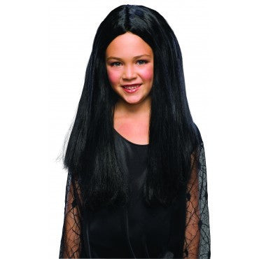 Kids Morticia Addams Wig - HalloweenCostumes4U.com - Accessories