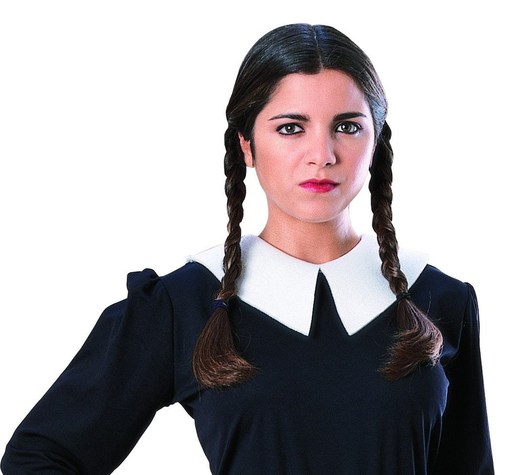 Wednesday Addams Wig - HalloweenCostumes4U.com - Accessories