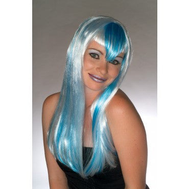 Blueberry Ice Wig - HalloweenCostumes4U.com - Accessories