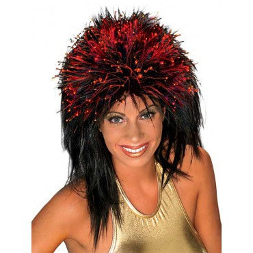 Fiber Optic Spikey Wig - Various Colors - HalloweenCostumes4U.com - Accessories - 1