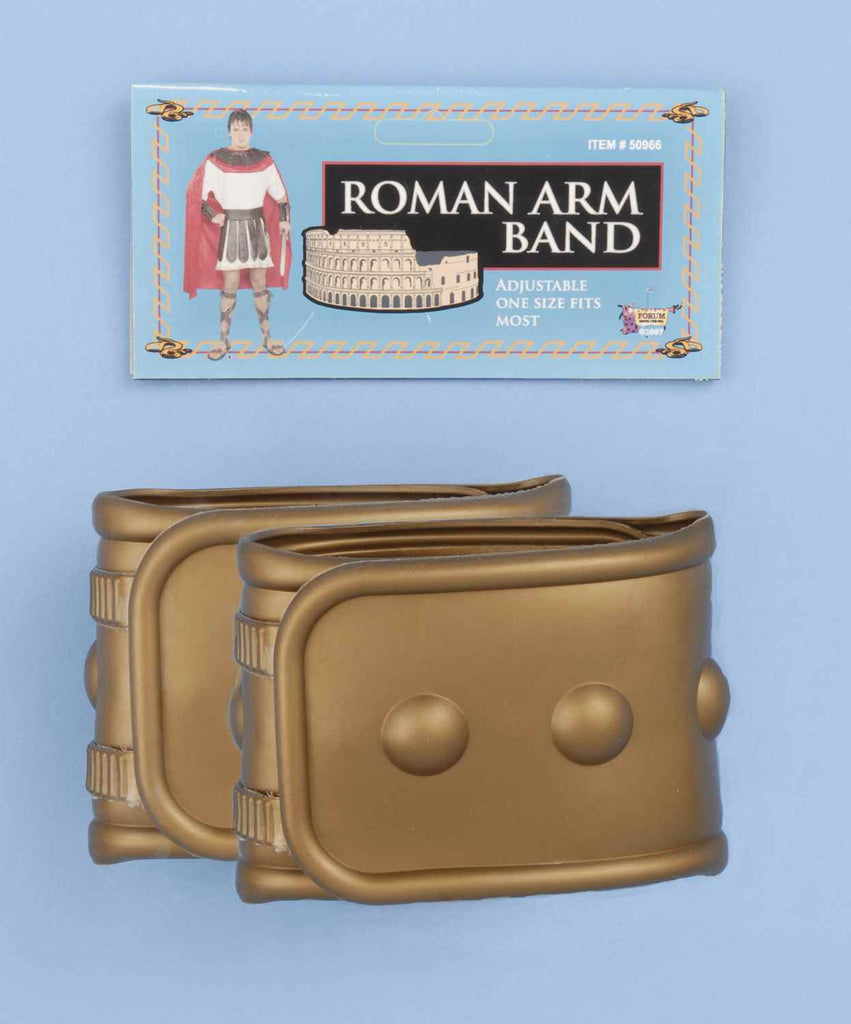 Roman Halloween Costume Wrist Cuffs Adult