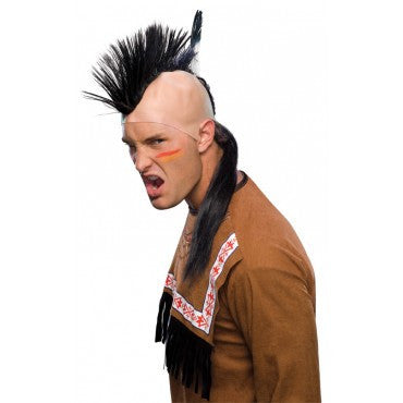 Native American Mohawk Wig - HalloweenCostumes4U.com - Accessories