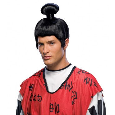Japanese Samurai Wig - HalloweenCostumes4U.com - Accessories