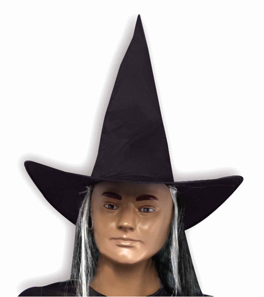 Halloween Witch Hats Witch Hat with Hair - HalloweenCostumes4U.com - Accessories
