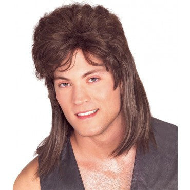 Mullet Wig - Various Colors - HalloweenCostumes4U.com - Accessories - 1