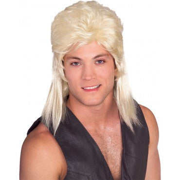 Mullet Wig - Various Colors - HalloweenCostumes4U.com - Accessories - 2