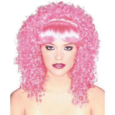 Bright Curly Wig - Various Colors - HalloweenCostumes4U.com - Accessories - 2