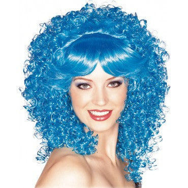 Bright Curly Wig - Various Colors - HalloweenCostumes4U.com - Accessories - 4