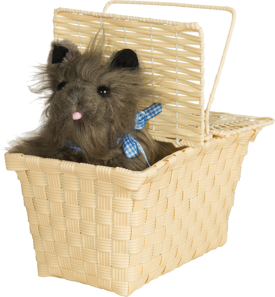 Wizard of Oz Toto in the Basket - HalloweenCostumes4U.com - Accessories