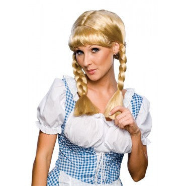 Blonde Cowgirl Wig - HalloweenCostumes4U.com - Accessories