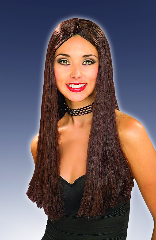 Costume Wigs Long Brown Wig - HalloweenCostumes4U.com - Accessories