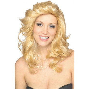 Blonde 70's Angel Wig - HalloweenCostumes4U.com - Accessories