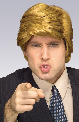 Billionaire Wig - HalloweenCostumes4U.com - Accessories