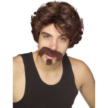 Big Johnnie Wig, Moustache and Goatee - HalloweenCostumes4U.com - Accessories