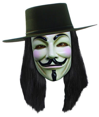 V for Vendetta Wig - HalloweenCostumes4U.com - Accessories