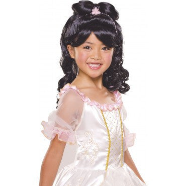 Kids Elegant Princess Wig - Various Colors - HalloweenCostumes4U.com - Accessories - 1