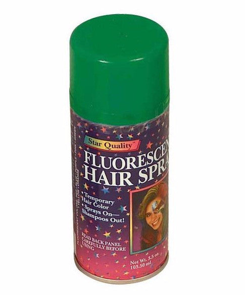 Flourescent Colored Hair Spray - Various Colors - HalloweenCostumes4U.com - Accessories - 6