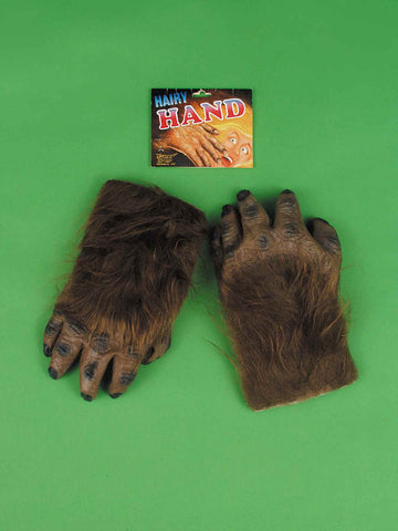 Hairy Werewolf or Ape Hands - HalloweenCostumes4U.com - Accessories