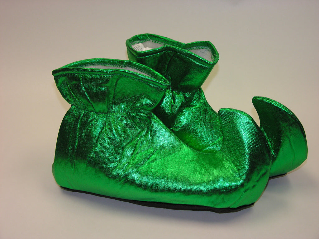 Costume Elf Shoes Green Cloth Costume Elf Shoes - HalloweenCostumes4U.com - Holidays