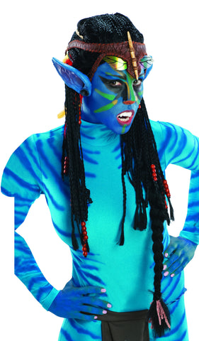Avatar Deluxe Neytiri Wig with Ears - HalloweenCostumes4U.com - Accessories