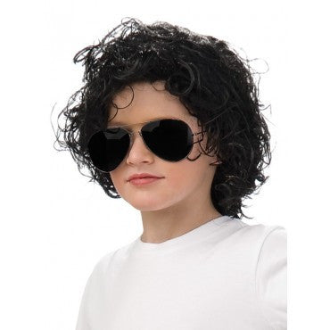 Kids Wavy Michael Jackon Wig - HalloweenCostumes4U.com - Accessories