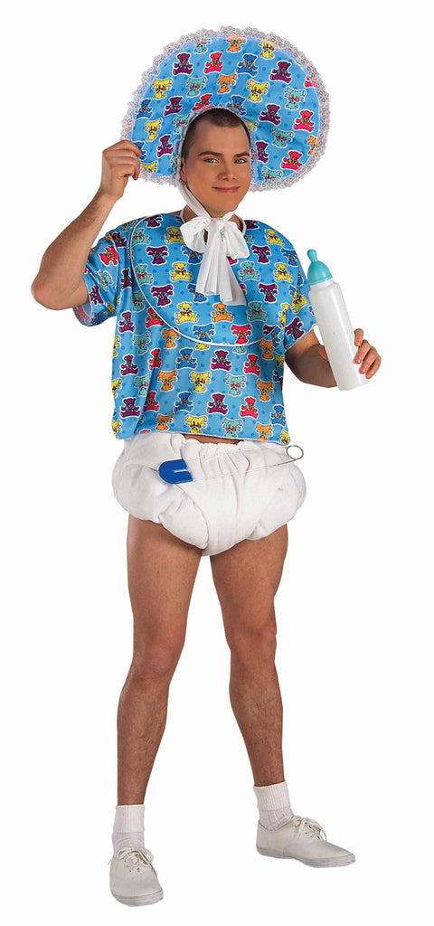 Adults Blue Baby Accessory Kit - HalloweenCostumes4U.com - Accessories