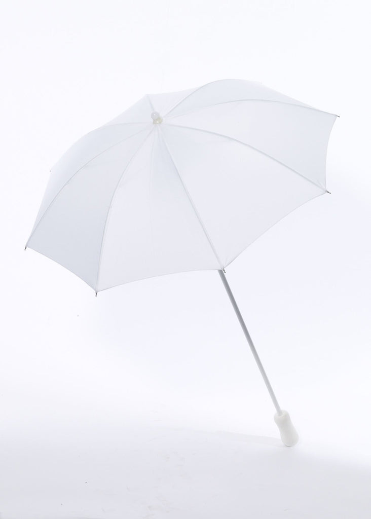 Halloween Costume Parasol White Parasol - HalloweenCostumes4U.com - Accessories