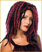 Dreaded Vamp Wig - HalloweenCostumes4U.com - Accessories