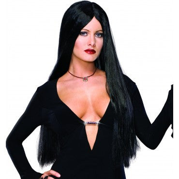 Morticia Addams Wig - HalloweenCostumes4U.com - Accessories
