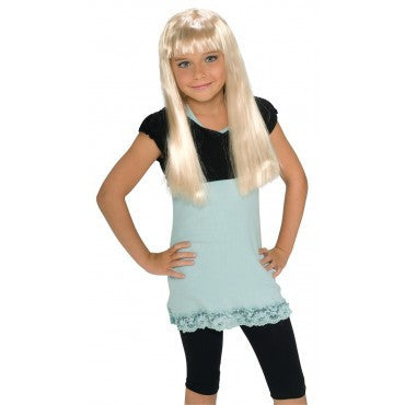 Kids Blonde Rock Star Wig - HalloweenCostumes4U.com - Accessories